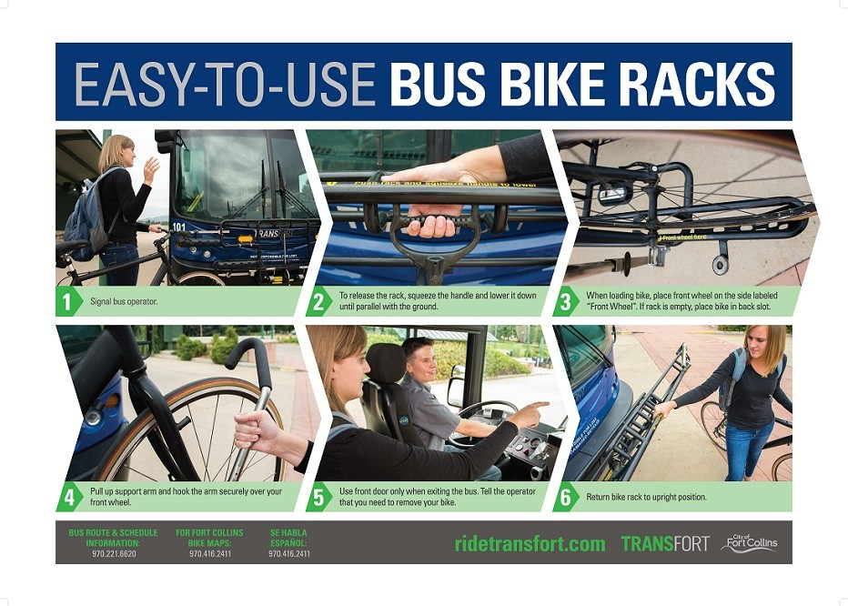 Bus Bike Rack Instructions