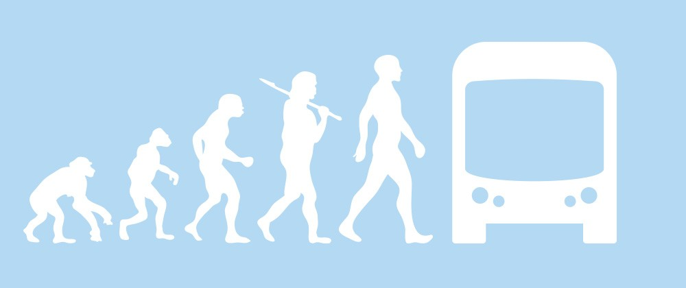 evolution of transit