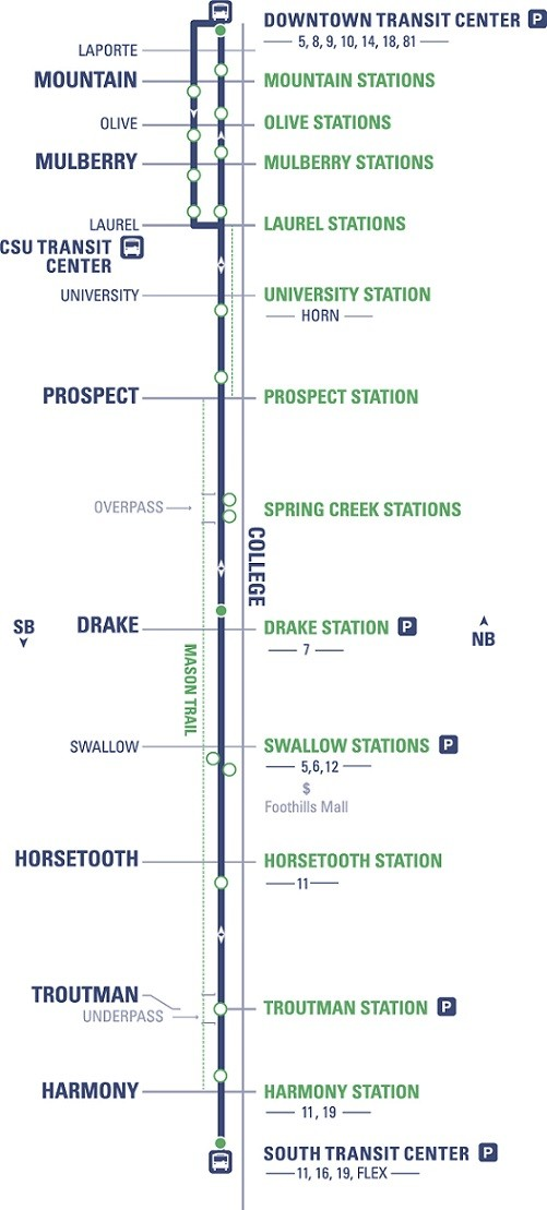 Routes | RideTransfort on